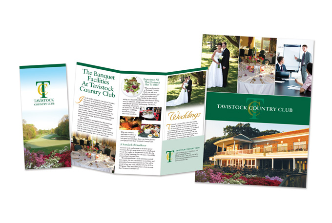 Country Club Brochure and Folder