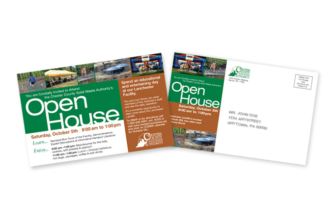 Open House Post Card